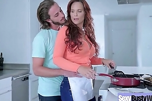 Sexy Housewife (Syren De Mer) With Obese Jugss Nailed Hardcore On Cam vid-22