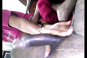 Newly Married Indian Wife Oily Handjob To Husband - IndianHiddenCams.com