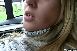 Public Blowjob In The Street For Cash With Sexy Teen Amateur Slut 30