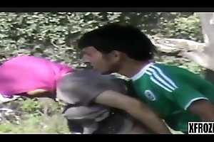 Xfrozen - Busted Syrian Refugees Having Sex In The Forest part 1