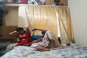 Indian husband &amp_ wife having sex at home. Tamil couples