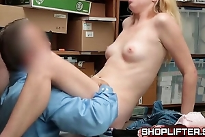 Security Number 12587695 Shoplyfter Zoe Parker