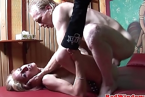 Despotic euro hooker pounded by client