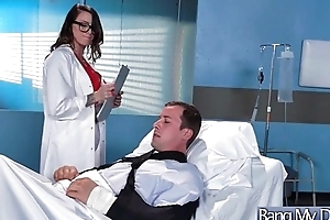 (Juelz Ventura) Slut Patient Come Together with Bang With Horny Doctor movie-13
