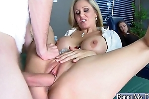 Sex Scene Between Horny Doctor Together with Sluty Patient (Julia Ann) video-28