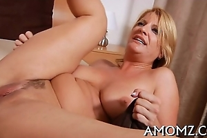 Mamma receives say no to anal creampied