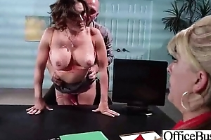 Intercorse In Office With Slut Naughty Big All round Boobs Girl (krissy lynn) video-21