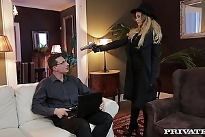 Anna Polina, glum Spy Gets Anal Carnal knowledge
