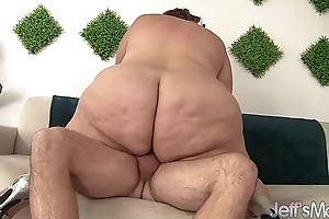 Huge fat nuisance gets herself fucked