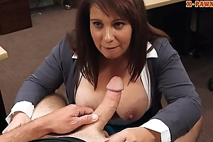 Busty milf pounded overwrought nasty gear-tooth dude