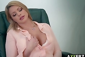 Sexy blonde Brooklyn Go out after fucks in the office