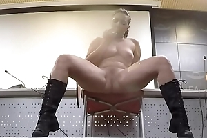 Masturbation with an amazing and huge squirting by beautiful Pamela S&aacute_nchez