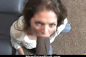 MILF Beside Wet Pussy Gets Railed At the end of one's tether Black Dick 21